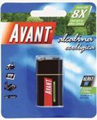 Bateria Avant Alcalina [sm] 5209 BAT-ALC-9V