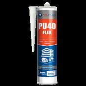 Pu Pro 40  Flex Preto Cartucho 400g 14127 PU40-3