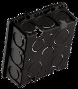 Caixa Luz Plástica Quadrada Ff 4x4 14183 200