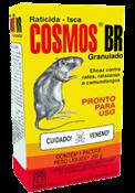 Raticida Cosmos Br 50x200 Gramas, Onu 3027 - Pesticida Base Derivados Cumarina, Sólido, 6.1 Ge Iii 14221 1A