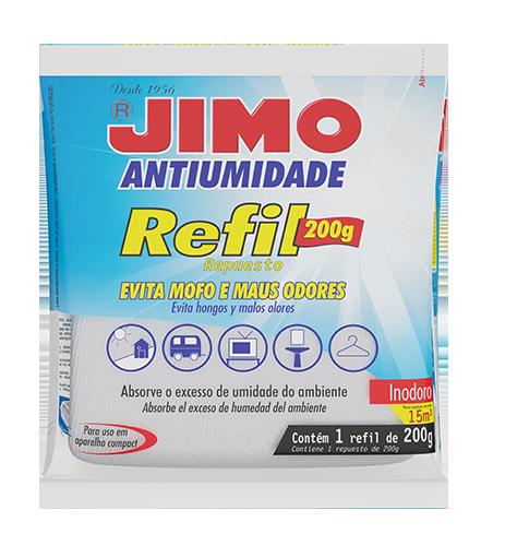 Jimo Refil Antiumidade 200g Inodoro 14267 1782-4