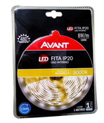 Fita Led 5m 3000k Ip20 8w/m C/ Transformador 14271 192910534