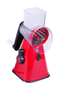 Ralador Manual Multiuso C/ 3 Lâminas C/ Ventosa Vermelho 14195 BW-350D RED