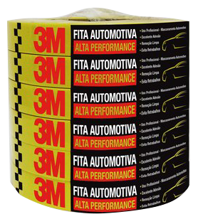 Fita Automotiva Alta Performance 3m 18mmx40m 14389 HC000660494