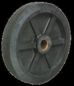 Roda Carrinho Armazém Maciço 8-150kg 14424 205125110