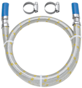"""Ligação Flexível Instalação Gás 1/2"""" Espiga 3/8"""" 1m 11414 182502-41"""