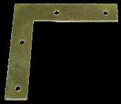Esquadro Para Esquadria Bicromatizado 10cm 14445 33441