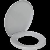 Assento Sanitário Almofadado Cinza 11421 PR1063-5