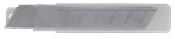 Lâmina Estilete Larga Pt C/ 10 Peças 25mm 14815 7933259
