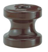 Isolador Tipo Roldana Para Armação Porcelana Presbow 72x72 11468 060204