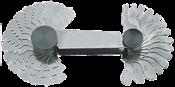 Calibre Rosca 30 Lâminas 6mm 1147 0.25-6MM