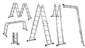 Escada Alumínio Multifuncional Com Plataforma 3,37m 4x3 10112 AM0112D/4x3
