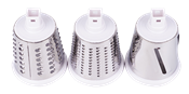 Ralador Manual Multiuso C/ 3 Lâminas C/ Ventosa Branco 14196 BW-350D WHITE